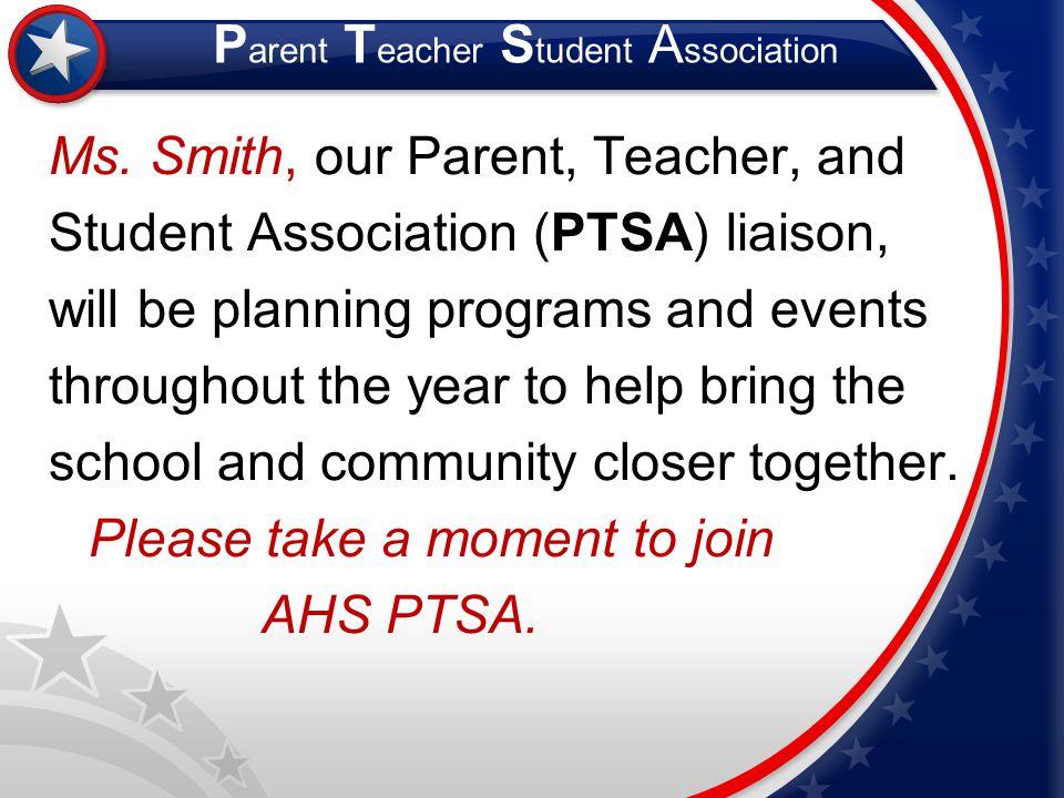 Parent Teacher Student Association