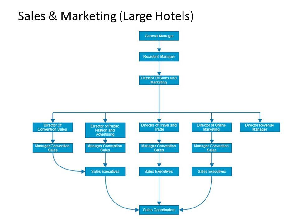 Sales & Marketing (Large Hotels)