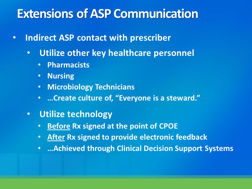 Extensions of ASP Communication