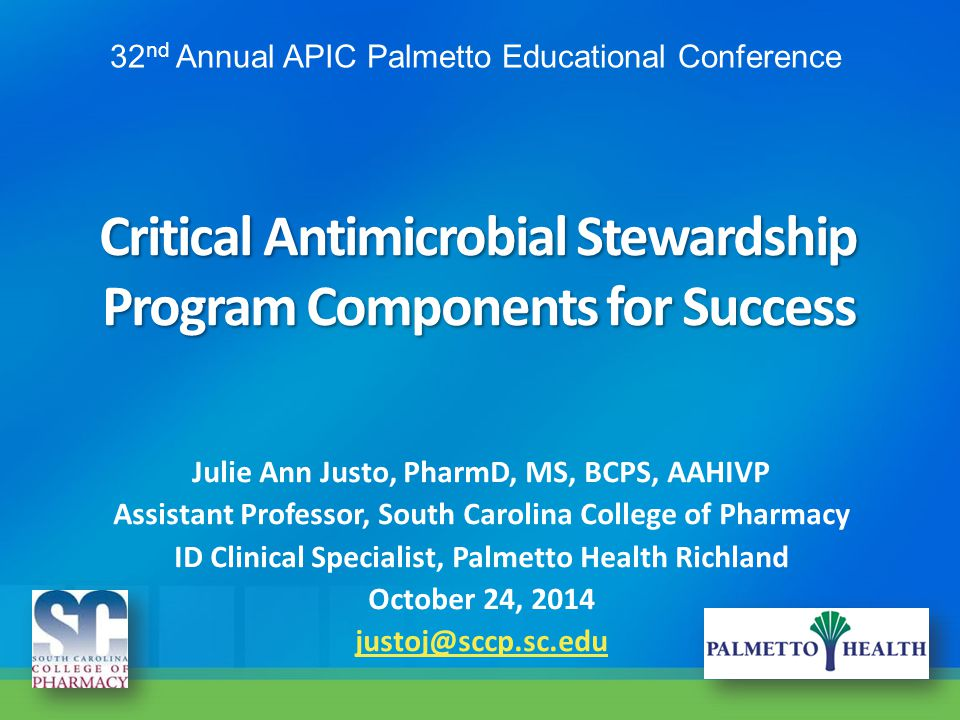 Critical Antimicrobial Stewardship Program Components for Success
