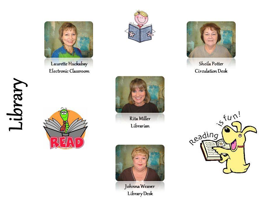 Library Laurette Huckabay Electronic Classroom Sheila Potter