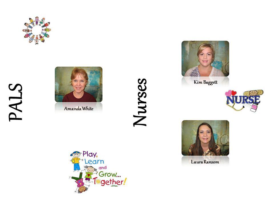 Kim Baggett Nurses PALS Amanda White Laura Ransom