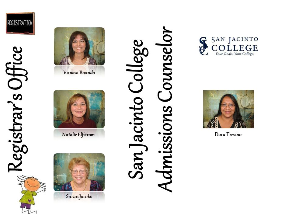 San Jacinto College Admissions Counselor