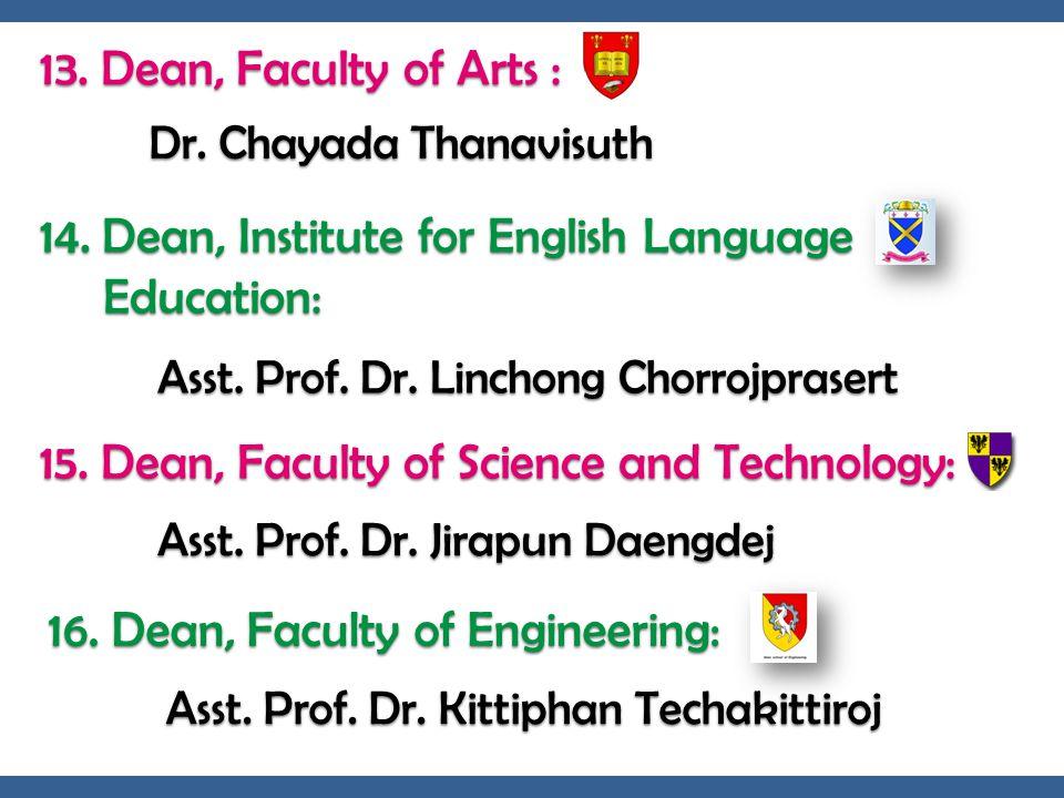 Dr. Chayada Thanavisuth
