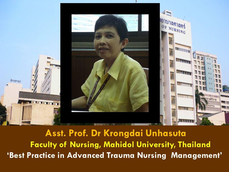 'Best Practice in Advanced Trauma Nursing Management'