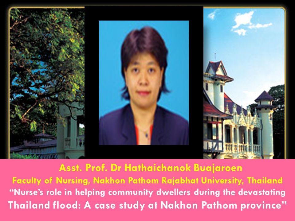 Asst. Prof. Dr Hathaichanok Buajaroen