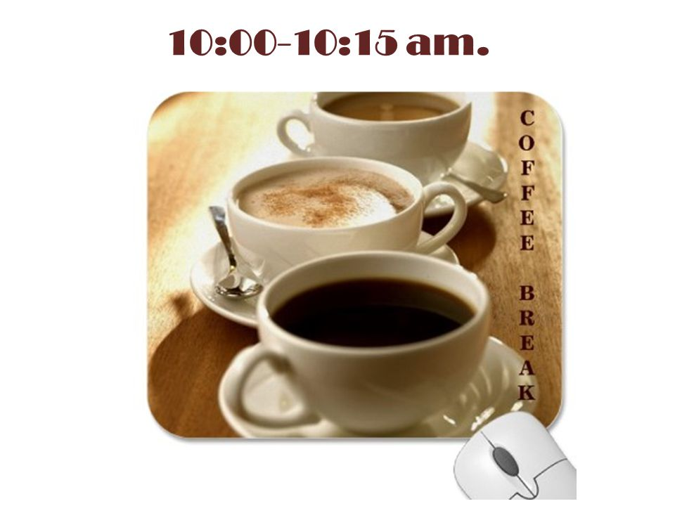 10:00-10:15 am.