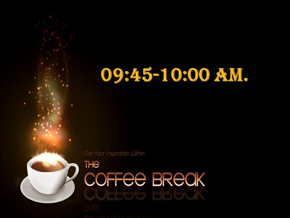 09:45-10:00 am.