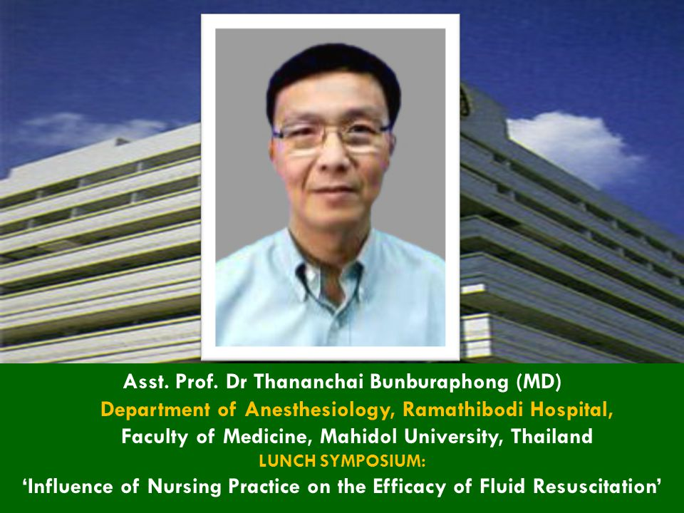 'Influence of Nursing Practice on the Efficacy of Fluid Resuscitation'