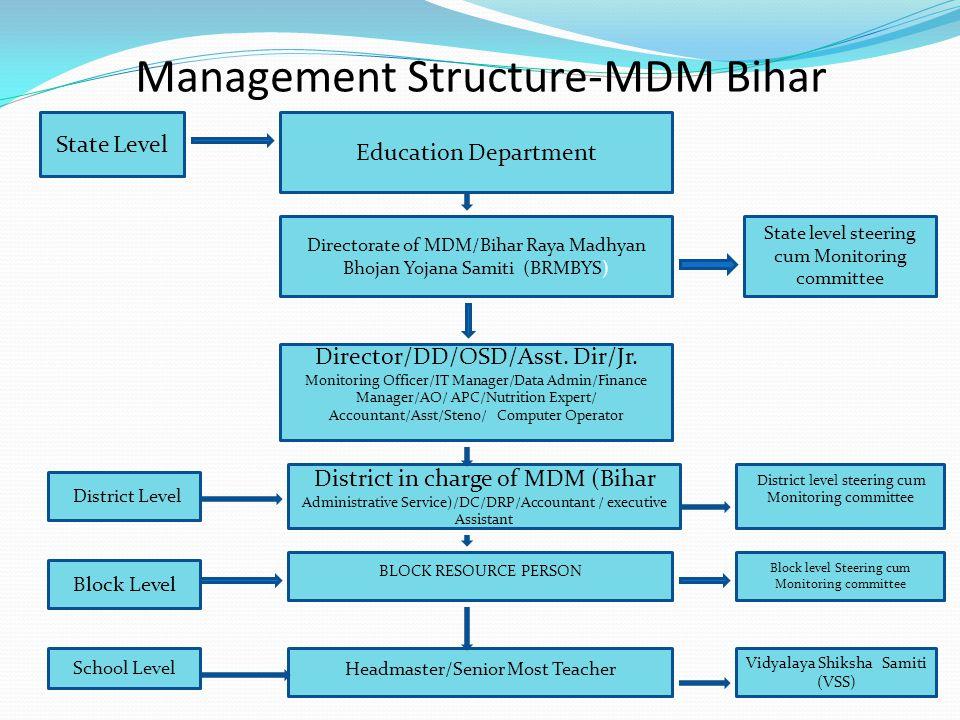 Management Structure-MDM Bihar
