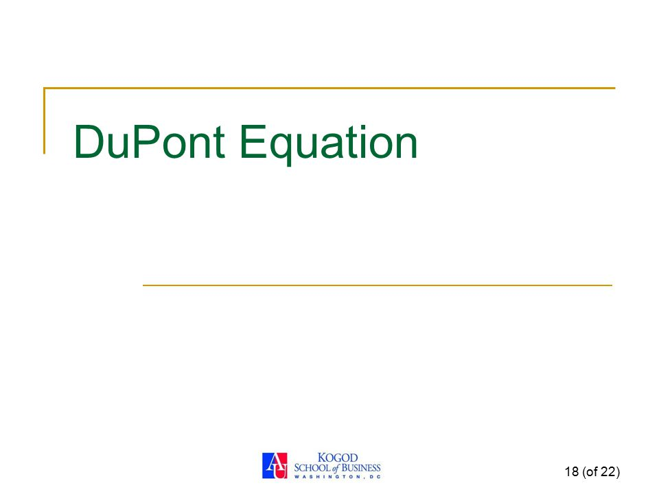 DuPont Equation