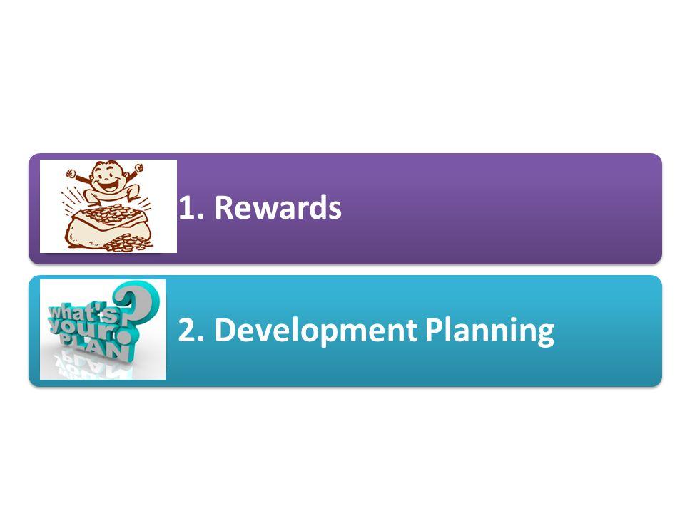 1. Rewards 2. Development Planning