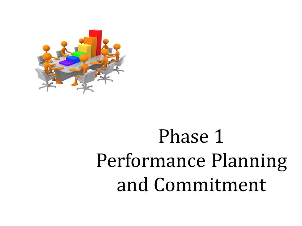 Phase 1 Performance Planning and Commitment