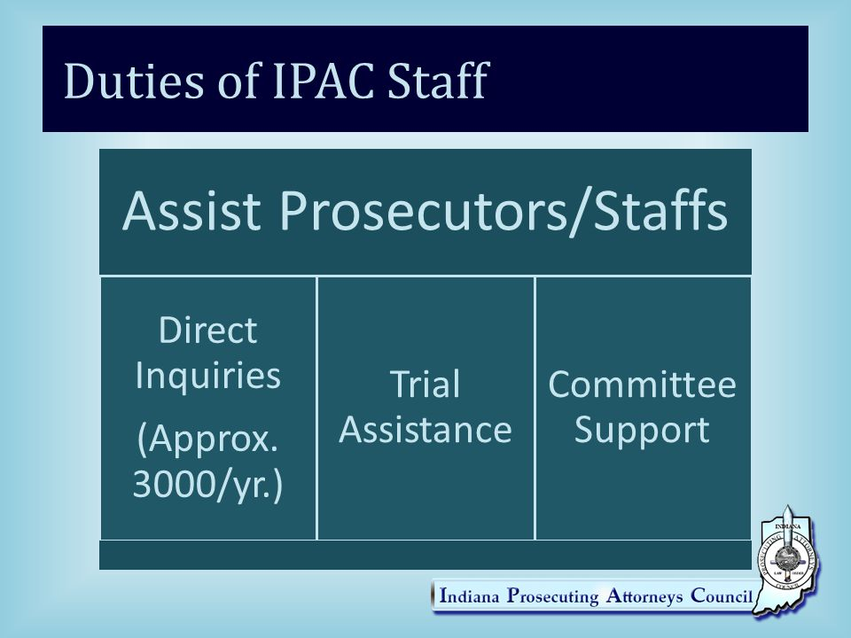 Assist Prosecutors/Staffs