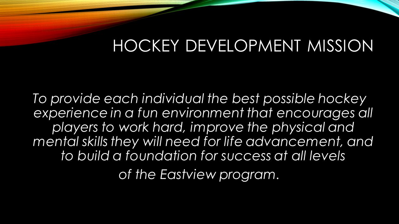 HOCKEY DEVELOPMENT MISSION