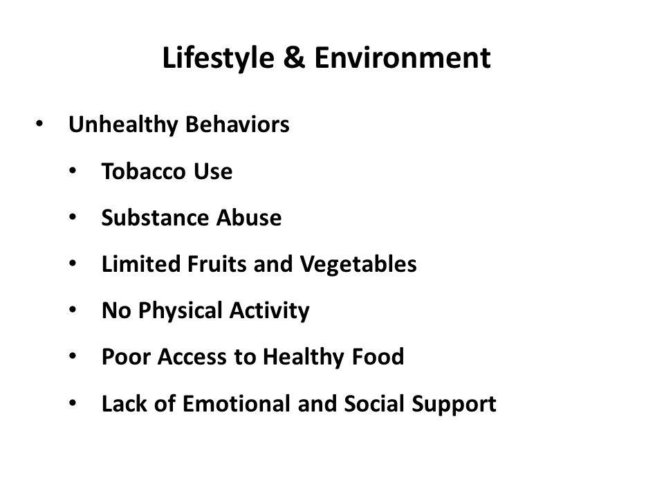 Lifestyle & Environment