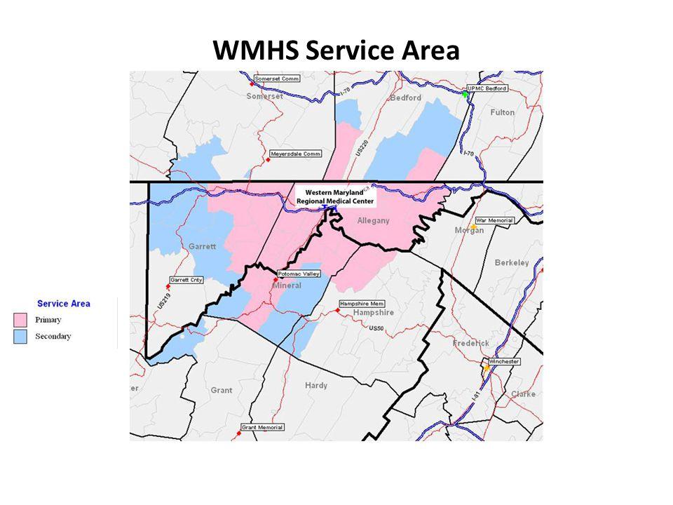 WMHS Service Area