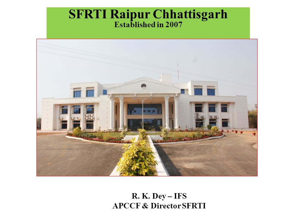 SFRTI Raipur Chhattisgarh