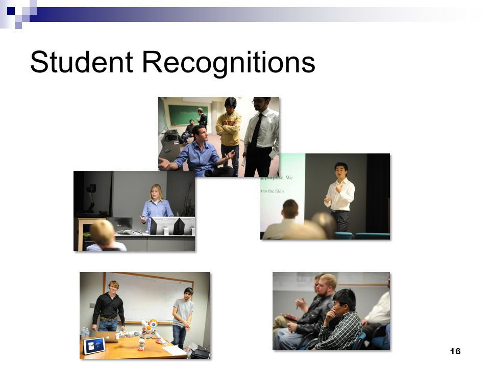 Student Recognitions