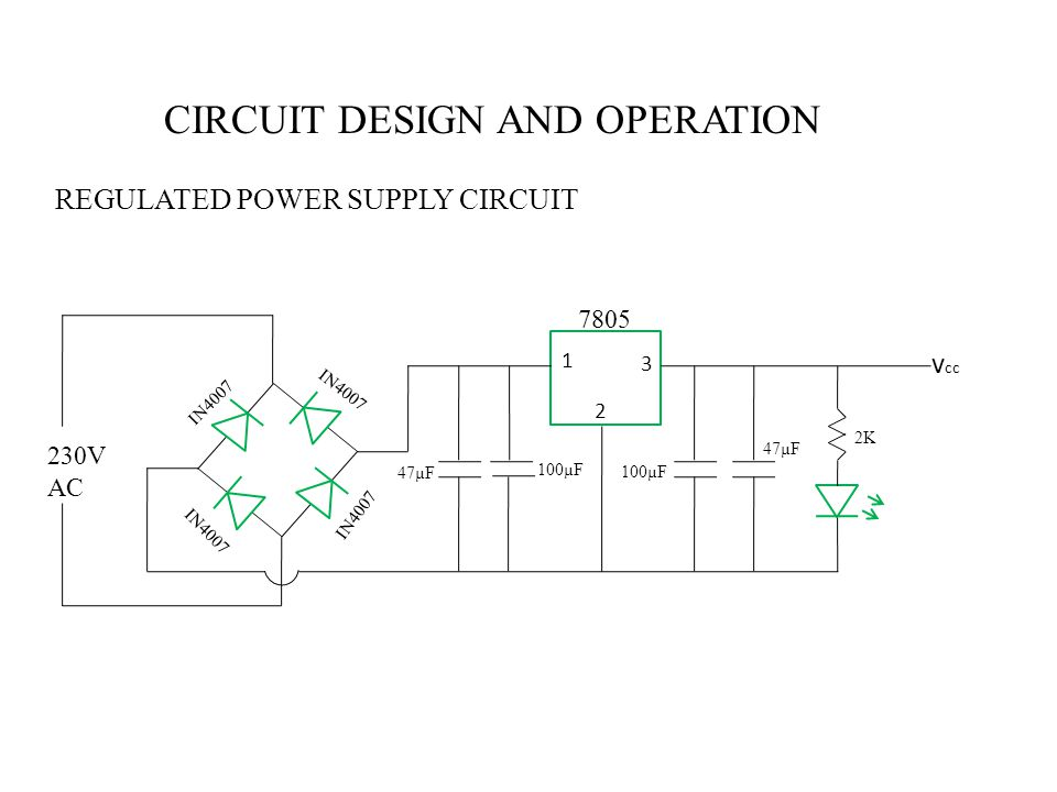 CIRCUIT DESIGN AND OPERATION