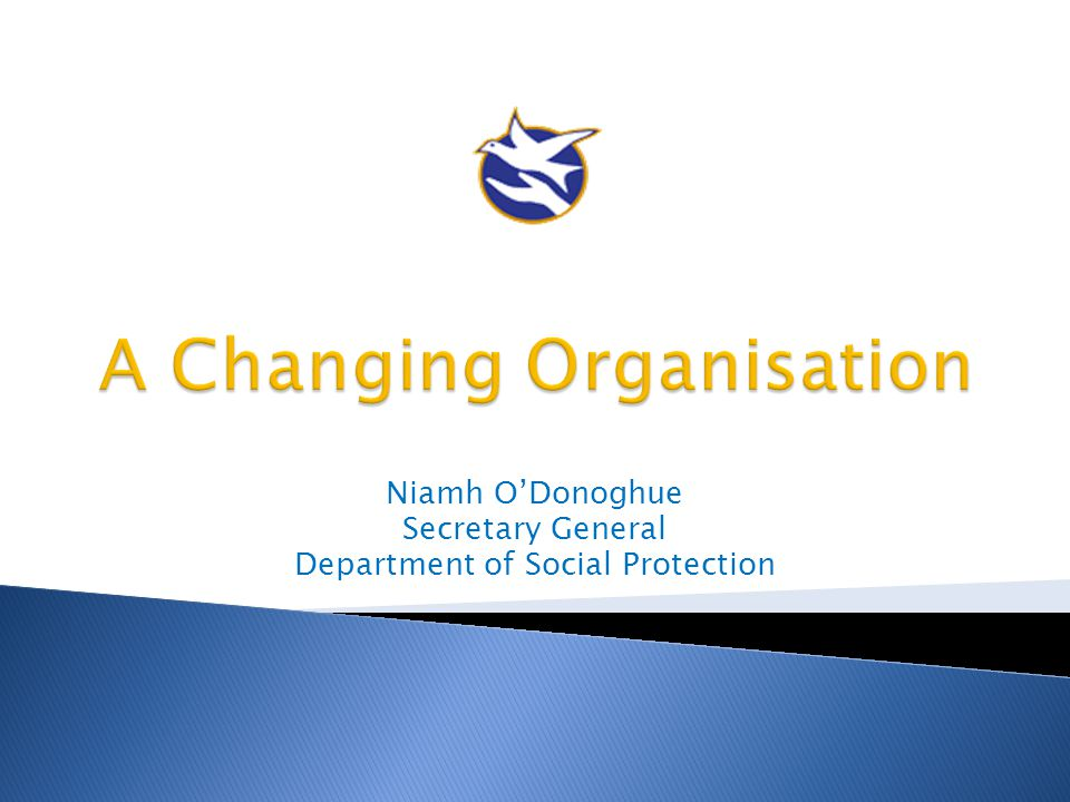 A Changing Organisation