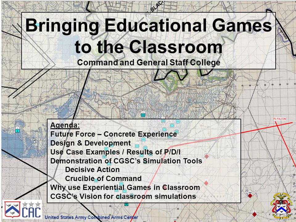 Bringing Educational Games to the Classroom
