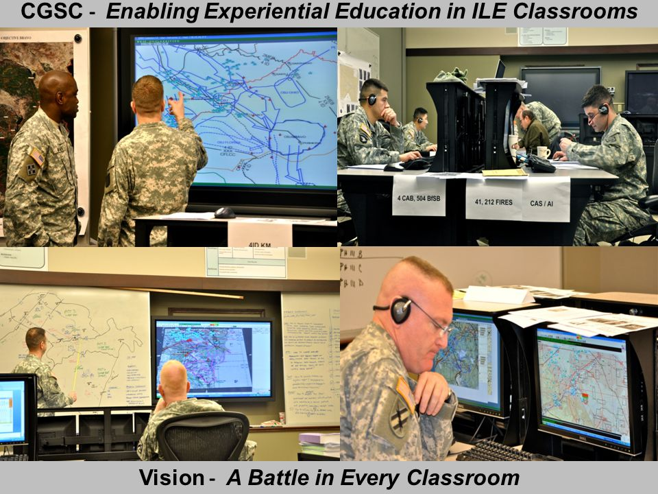 CGSC - Enabling Experiential Education in ILE Classrooms
