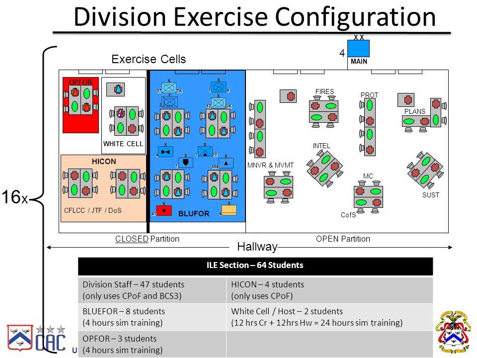 Division Exercise Configuration