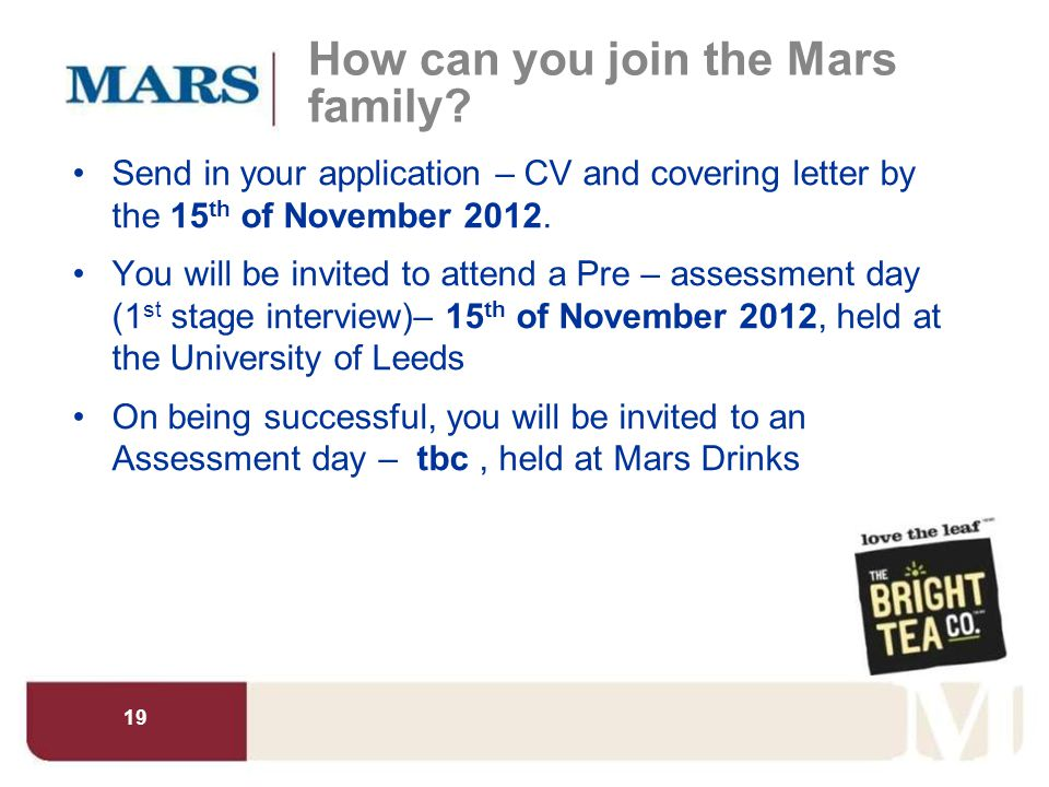 How can you join the Mars family