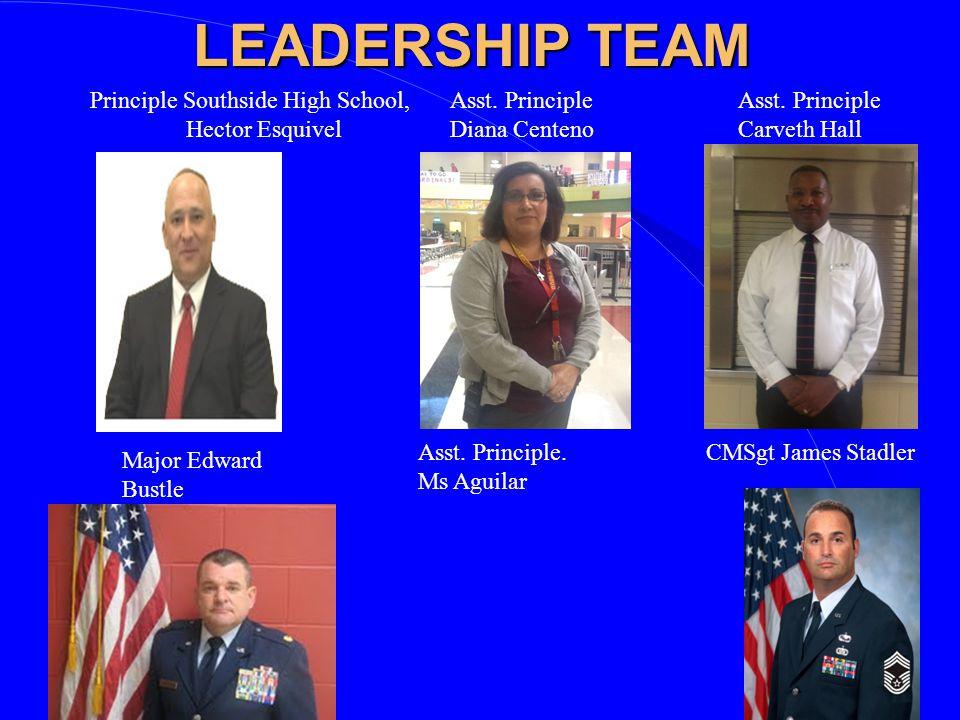 LEADERSHIP TEAM Principle Southside High School, Hector Esquivel