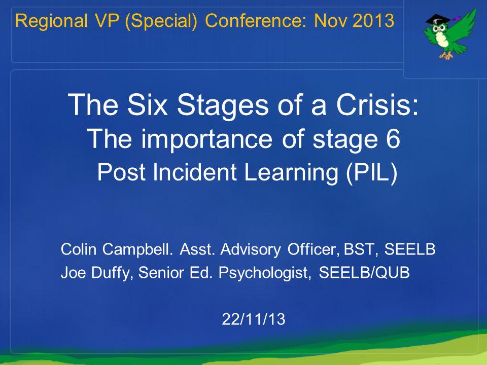 Regional VP (Special) Conference: Nov 2013