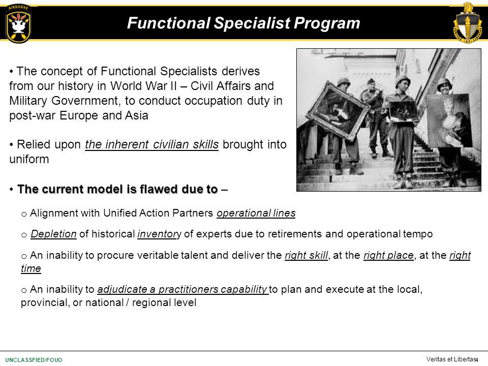 Functional Specialist Program