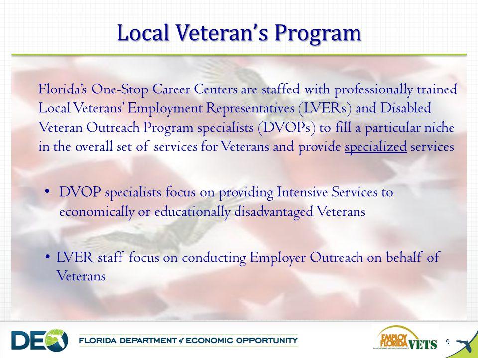 Local Veteran's Program