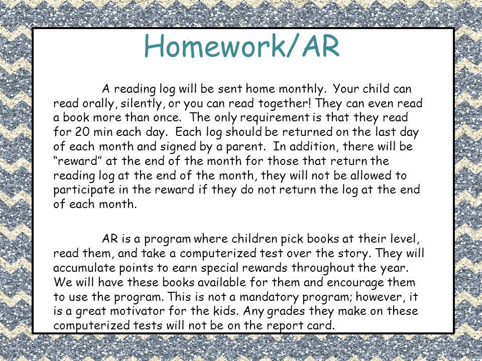 Homework/AR