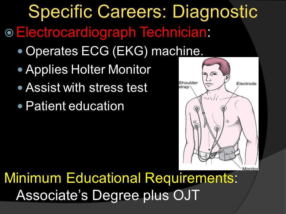 Specific Careers: Diagnostic