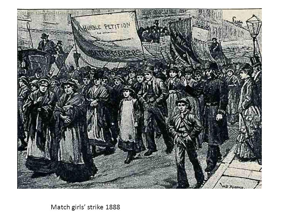 Match girls' strike 1888