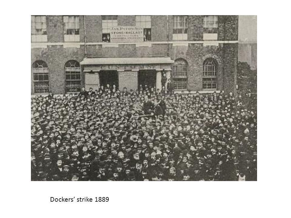 Dockers' strike 1889