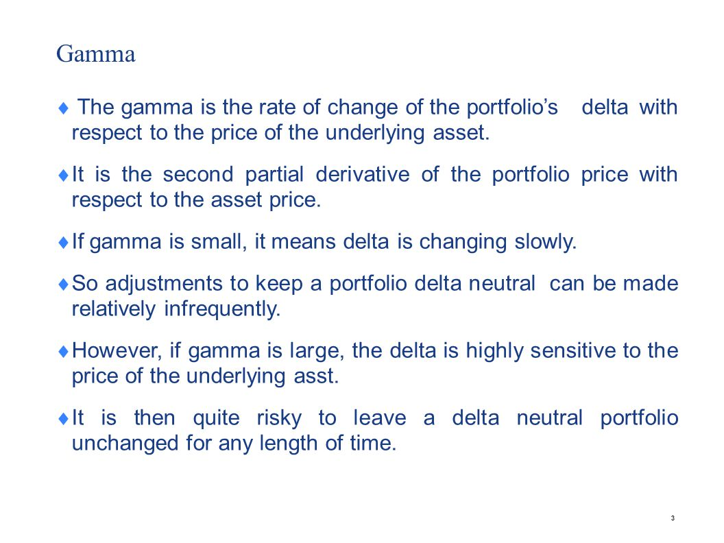 Theta Theta of a portfolio is the rate of change of value of the portfolio with respect to change of time.