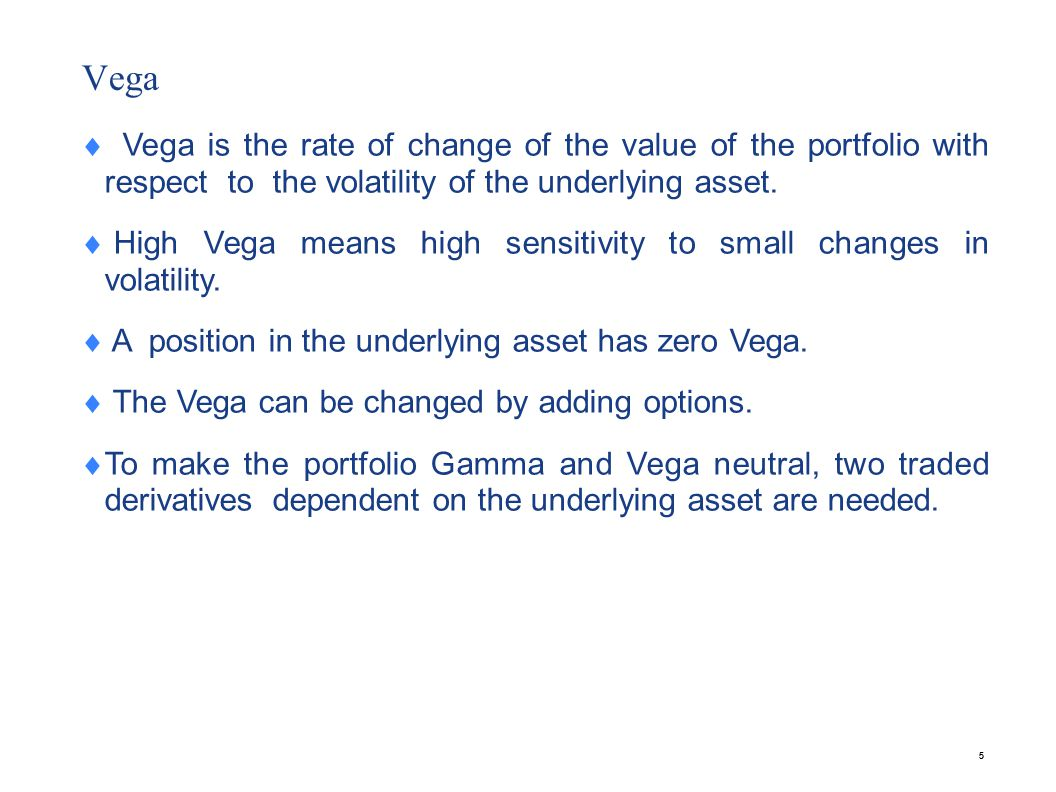 Rho Rho of a portfolio of options is the rate of change of value of the portfolio with respect to the interest rate.