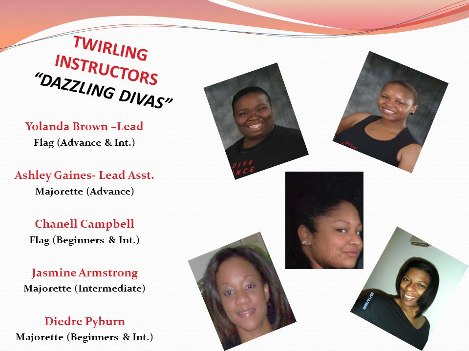 TWIRLING INSTRUCTORS DAZZLING DIVAS