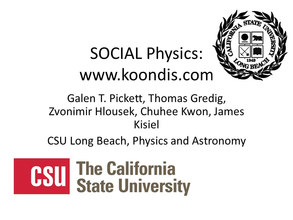 SOCIAL Physics: www.koondis.com