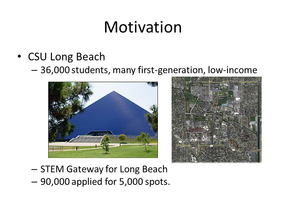 Motivation CSU Long Beach