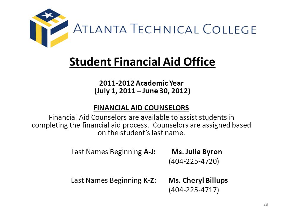 Student Financial Aid Office