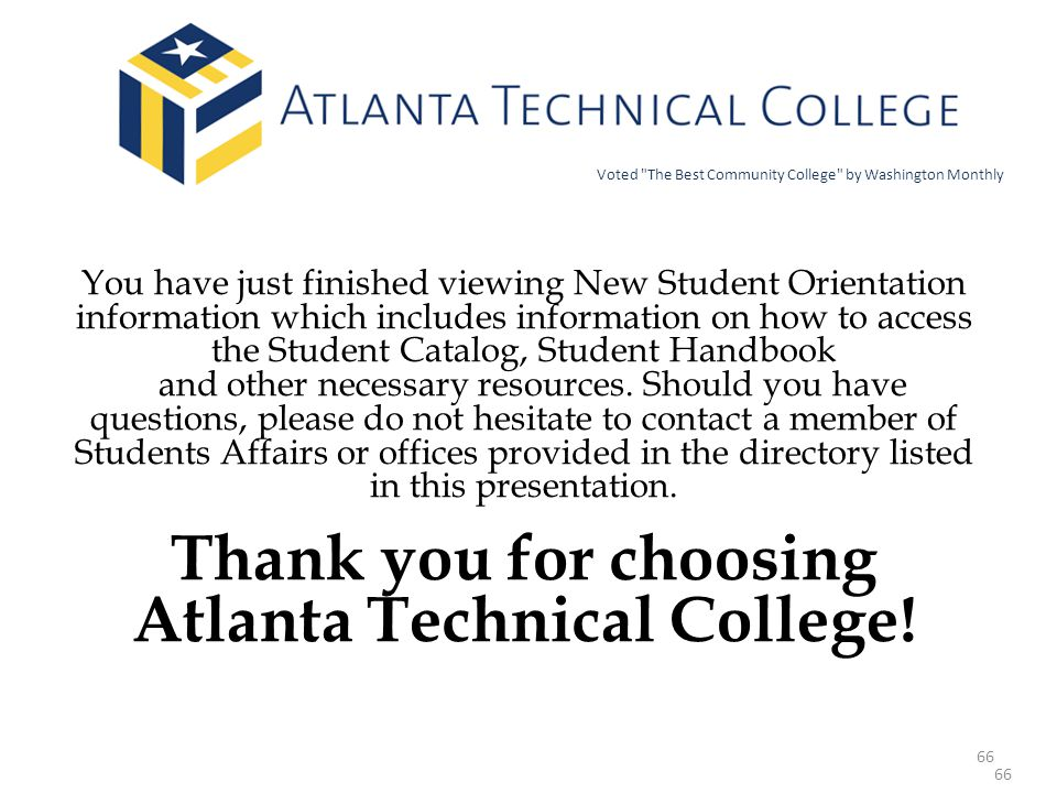 Atlanta Technical College!
