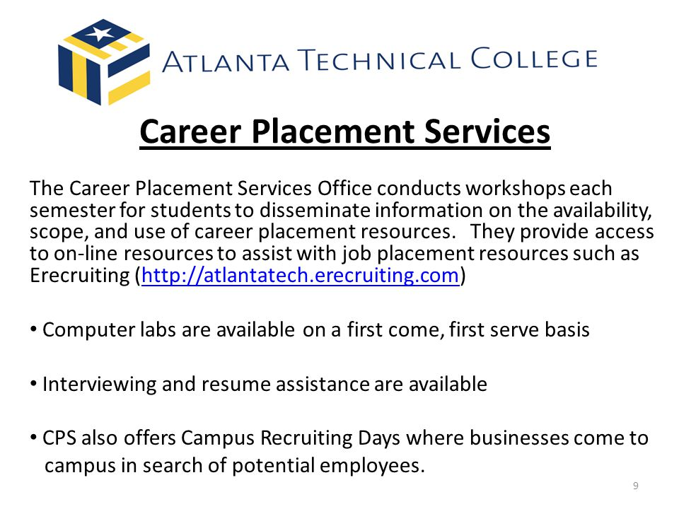 Career Placement Services
