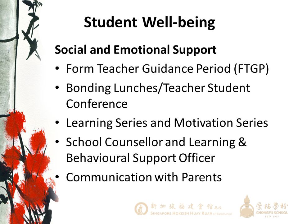 Student Well-being Social and Emotional Support