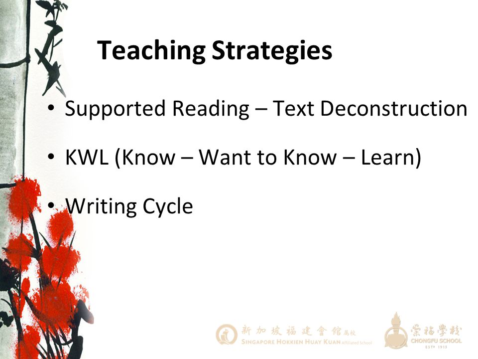 Teaching Strategies Supported Reading – Text Deconstruction