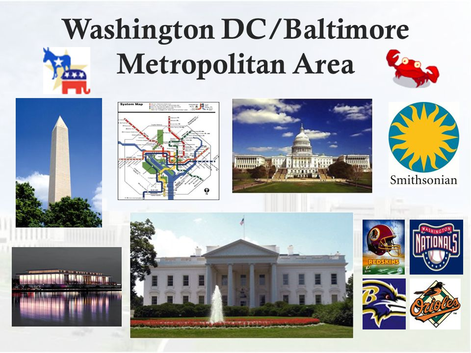 Washington DC/Baltimore Metropolitan Area