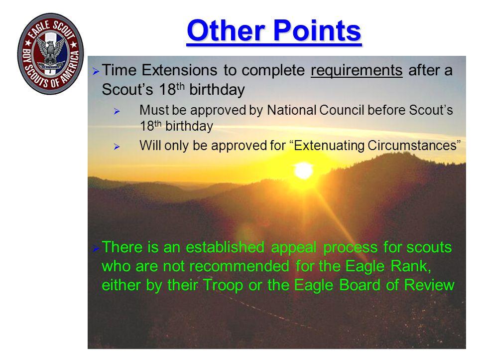 Other Points Highlight key points.