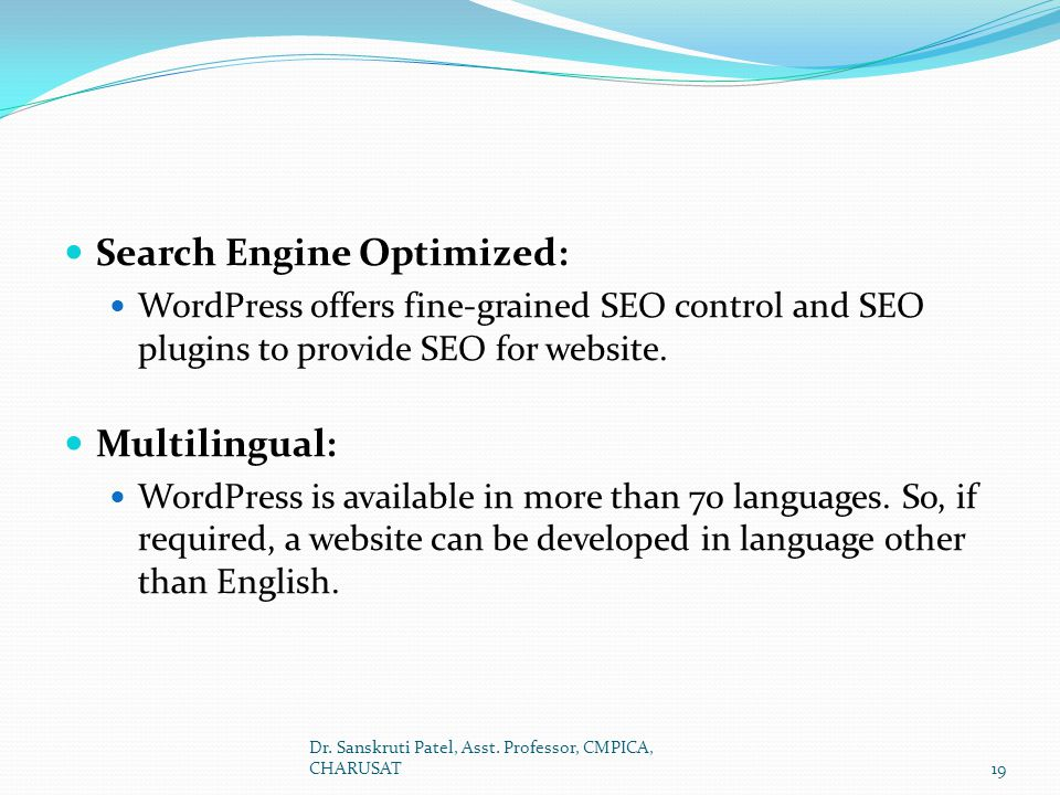 Search Engine Optimized: